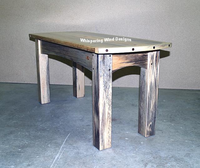 Beetle Kill Pine Furniture Coffee Table 01 02